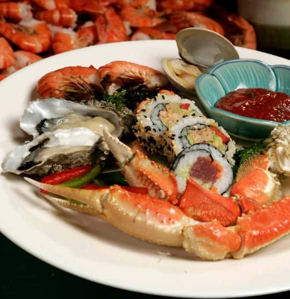 Image of Seafood Buffet at Deer Valley